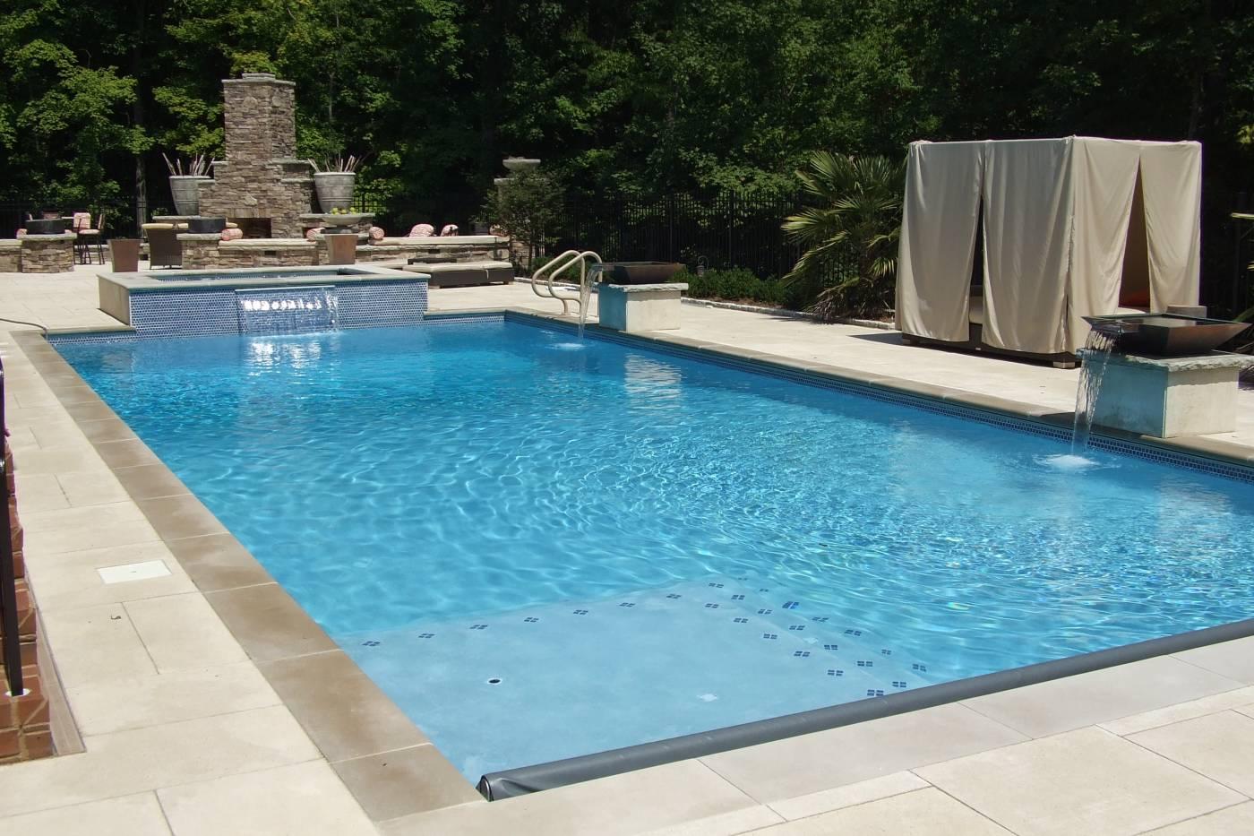 Allison Companies Inc Swimming Pool Backyard Living